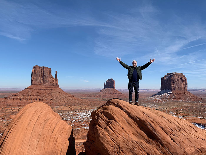 Phil finally makes it to Monument Valley Phil Murray