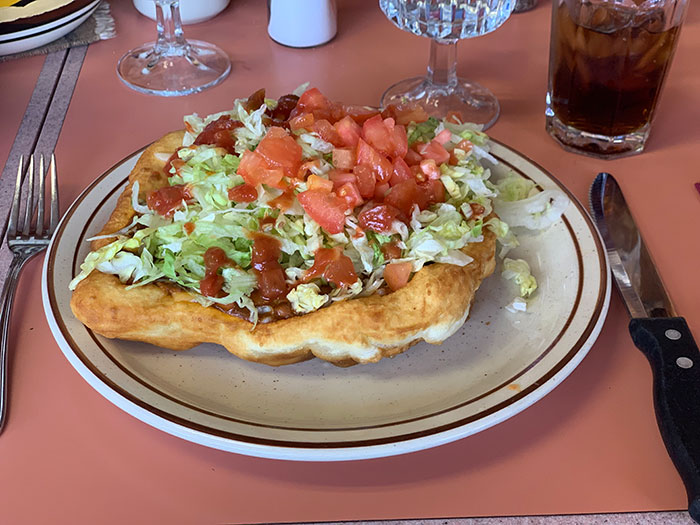 Navajo tacos Phil Murray