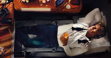 First Class onboard Emirates
