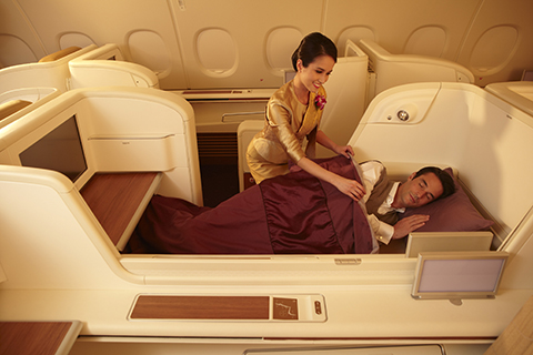 Royal First Class cabin