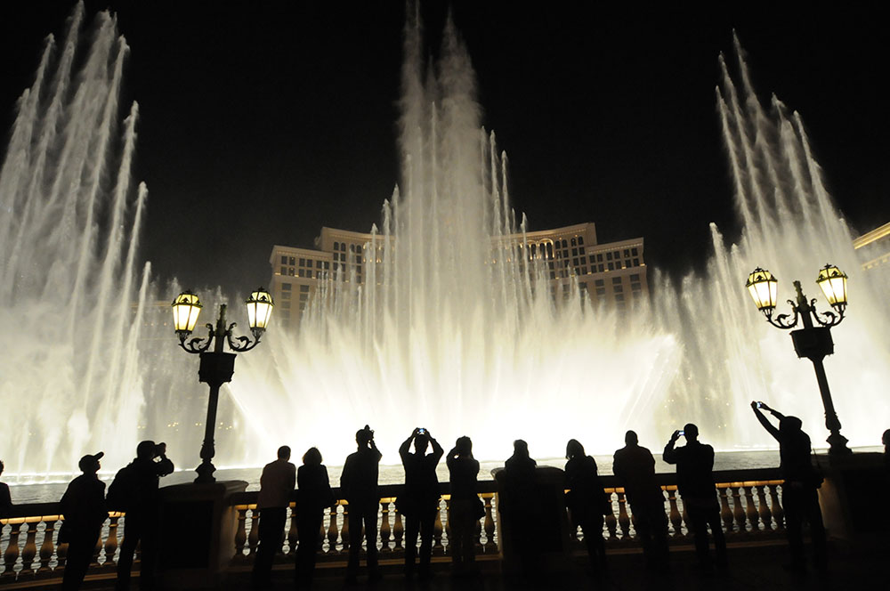 Bellagio fountain, Las Vegas