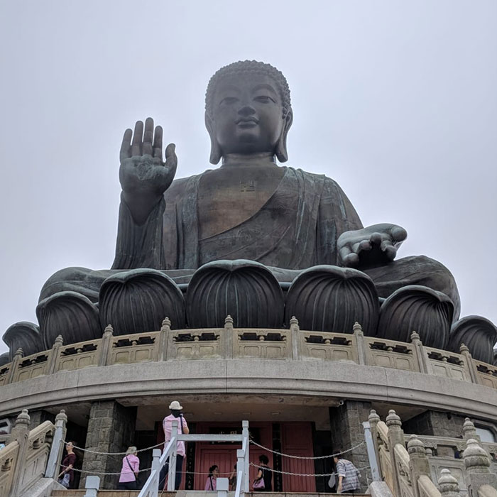 Big Buddha Hong Kong Lizzie Lacey-Brennan