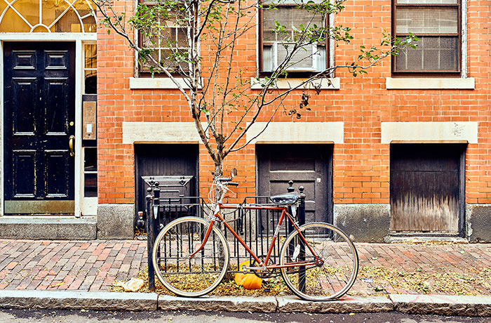 Bike in Boston