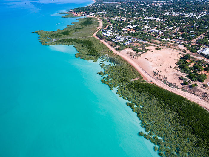 Broome from above