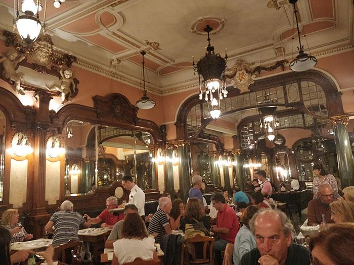 Cafe Majestic Porto Angela Griffin
