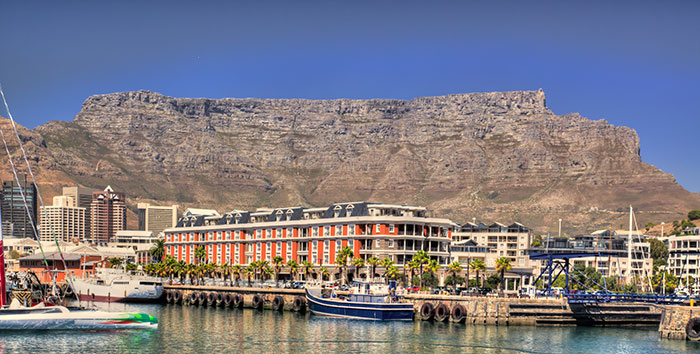 Table Mountain and V&A Waterfront, Cape Town
