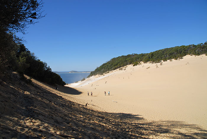 Carlo Sand Blow, Rainbow Beach, Queensland