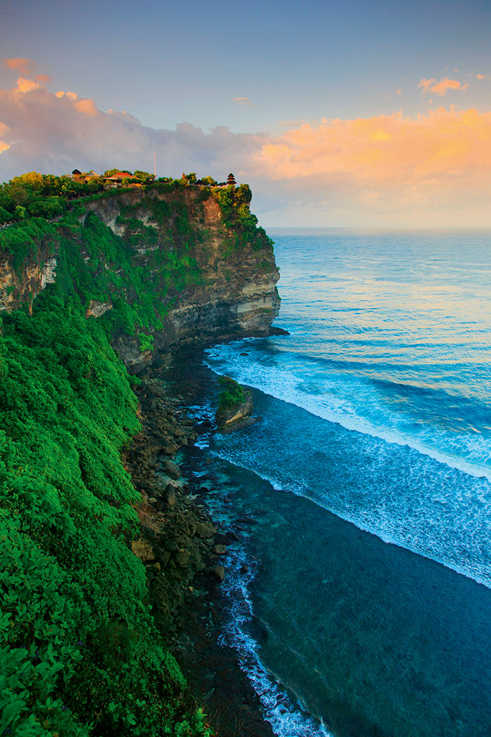 Bali clifftop