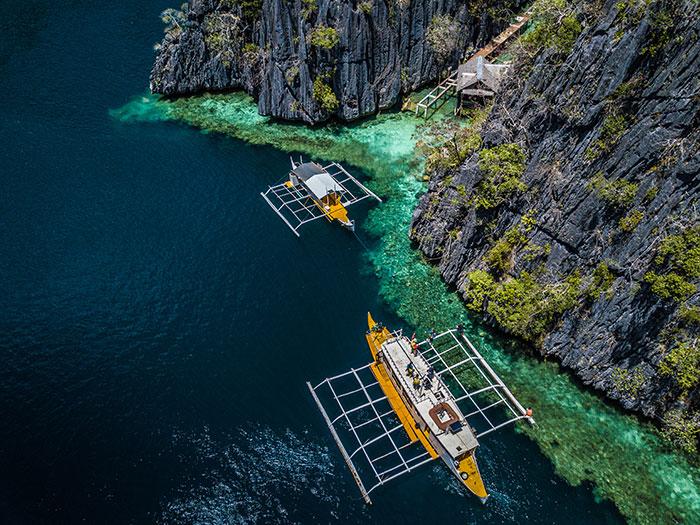 Coron Coastline Philippines Richard Collett
