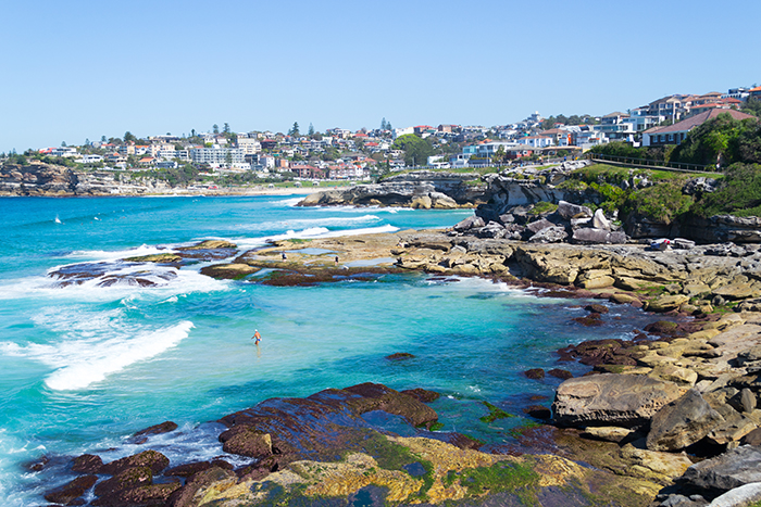 Coogee to Bondi walk, Sydney