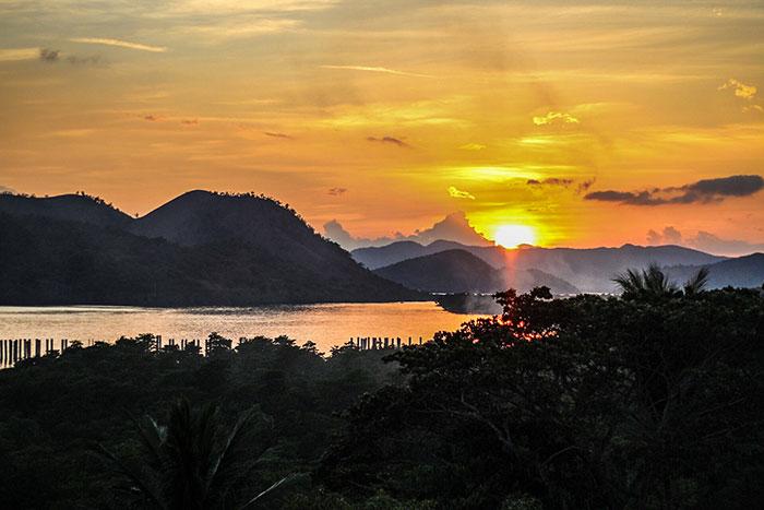 Coron sunset Philippines Richard Collett
