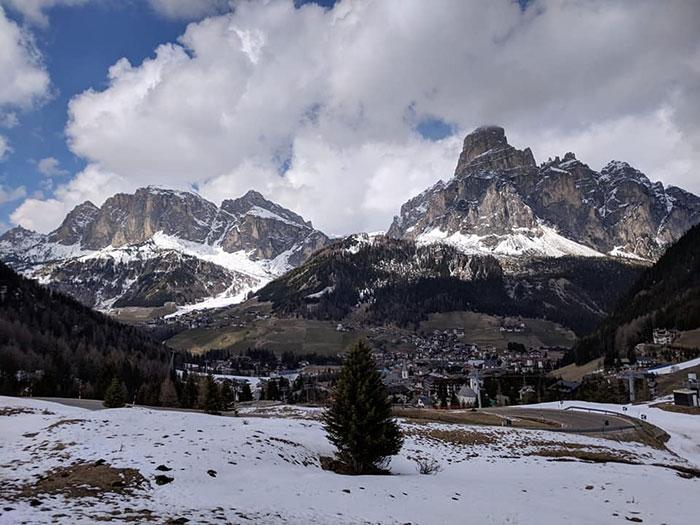 The Dolomites Irina Ginghina