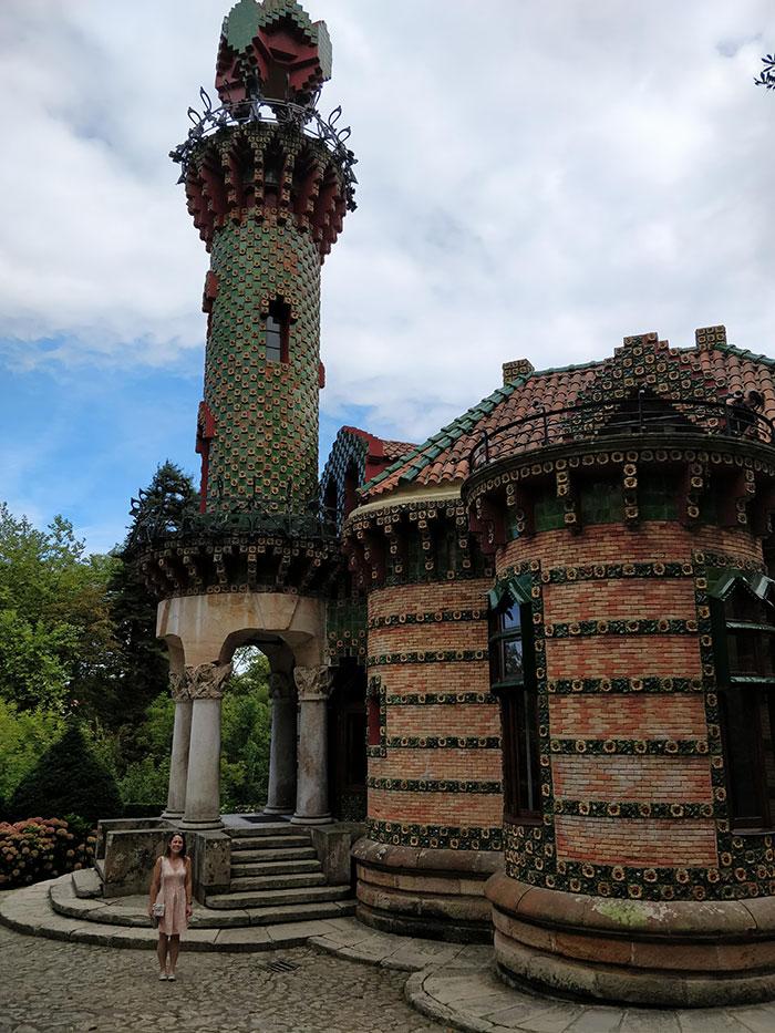 Gaudi's El Capricho Angela Griffin