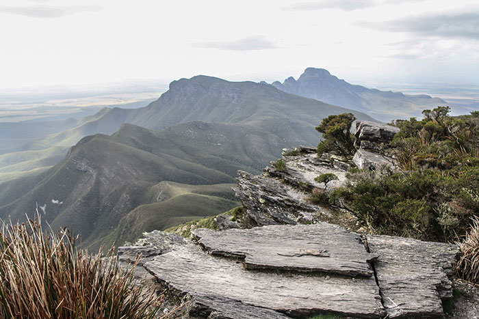 View from the summit of Bluff Knoll Richard Collett