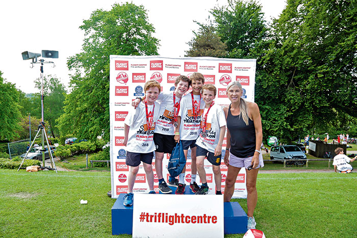 Flight Centre Schools Triathlon 2018