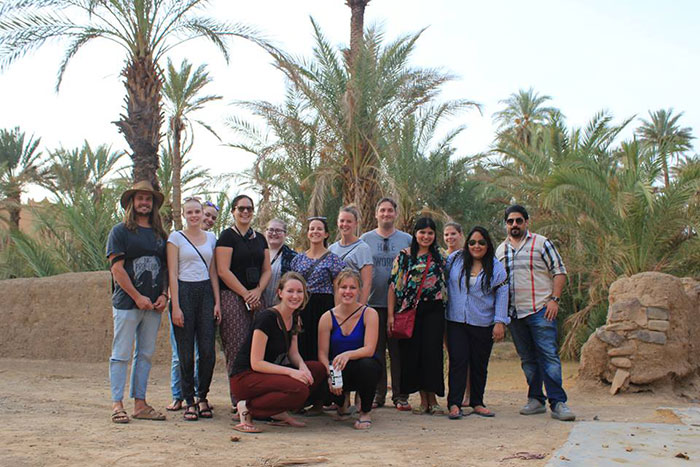 G Adventures group tour, Morocco