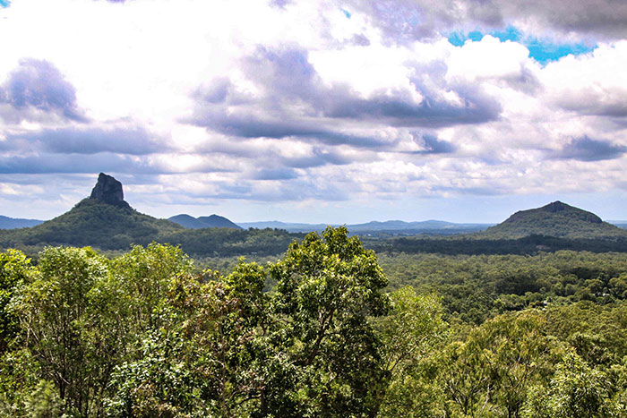 Glasshouse Mountains Richard Collett