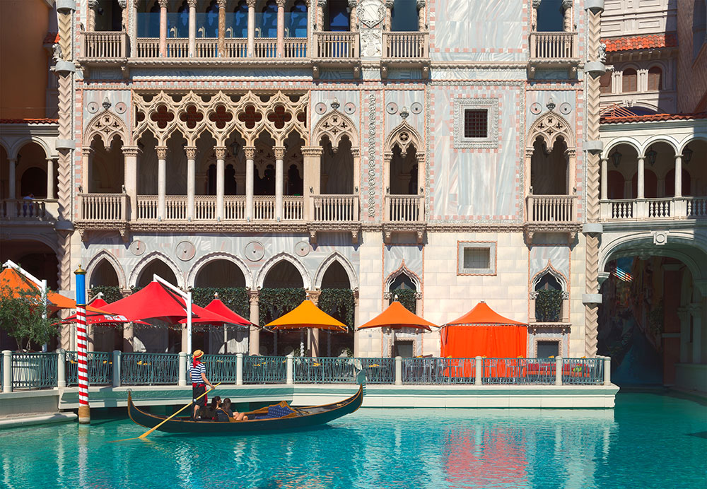 Gondolas at The Venetian, Las Vegas