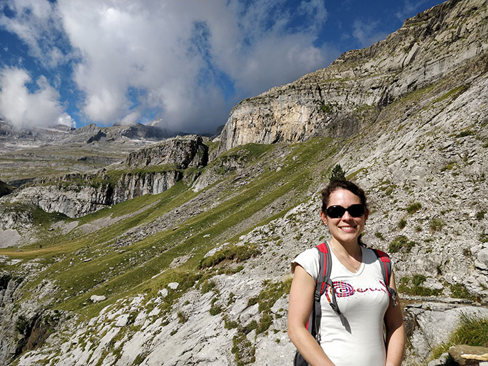 Hiking in the Pyrenees Angela Griffin