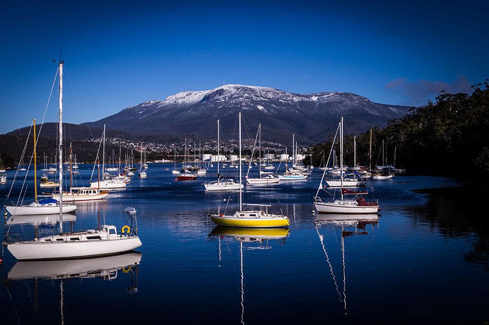 Hobart Harbour Tasmania