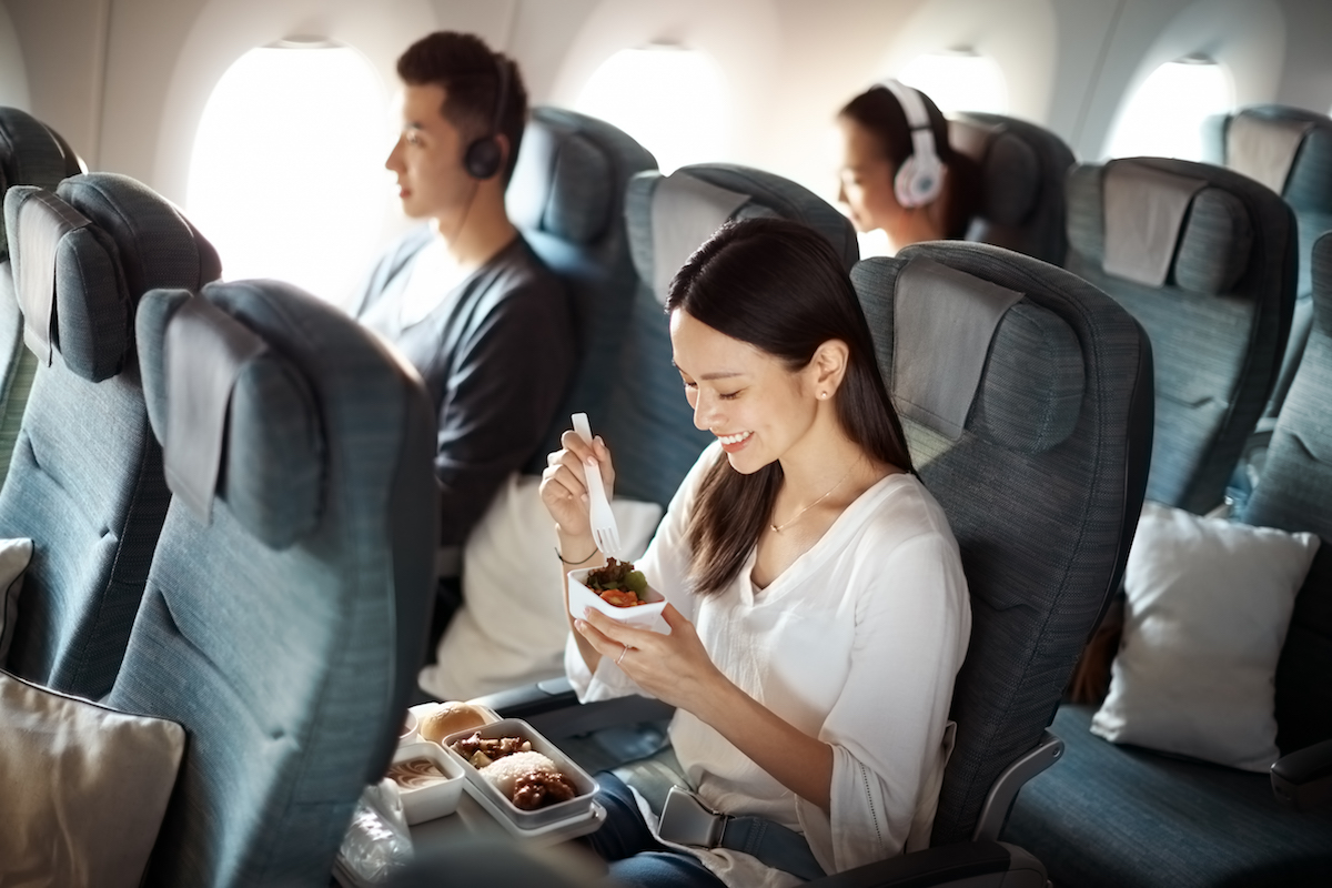 Cathay Pacific's Economy cabin