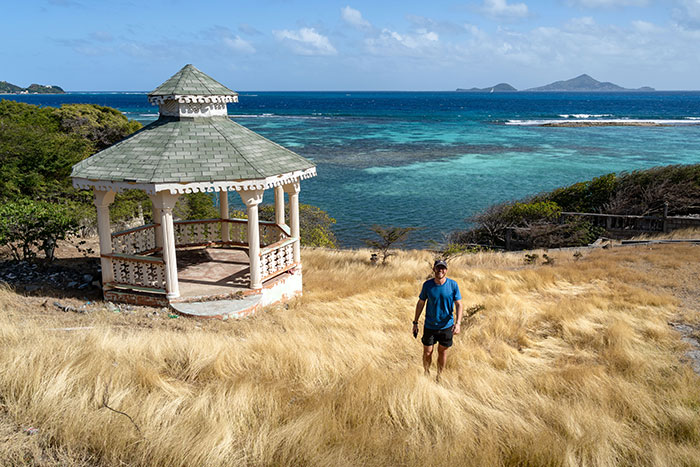 Island hike St Vincent and the Grenadines Ross Jennings