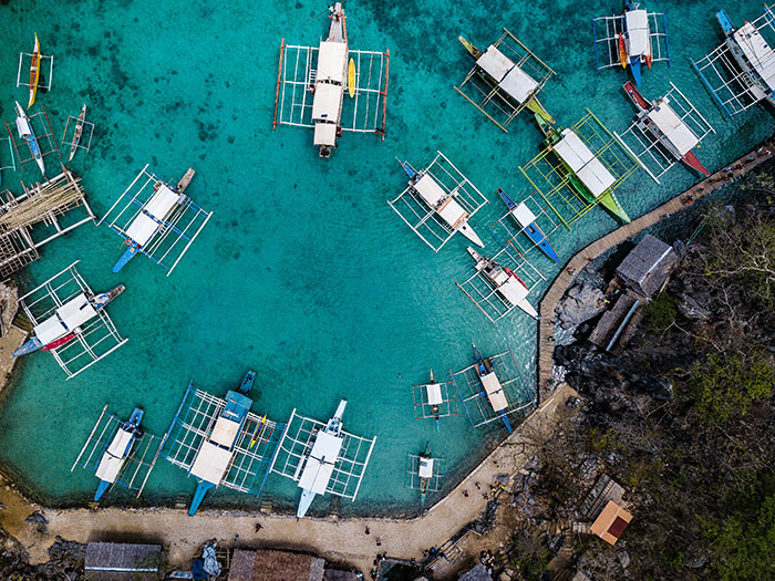 Island hopping Philippines Richard Collett