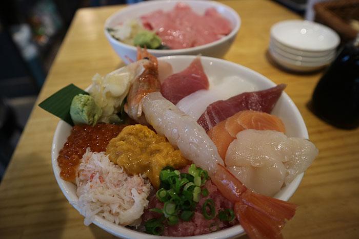 Japanese seafood, Tokyo