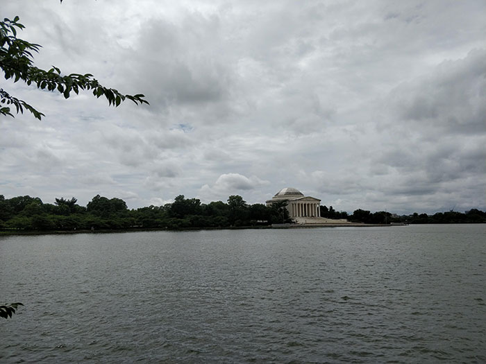 Tidal Basin and Jefferson Memorial Washington Angela Griffin