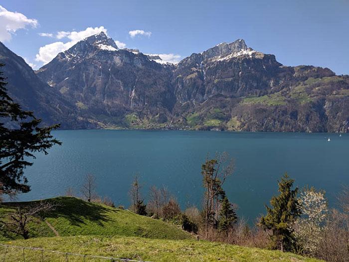 Lake Lucerne Irina Ginghina