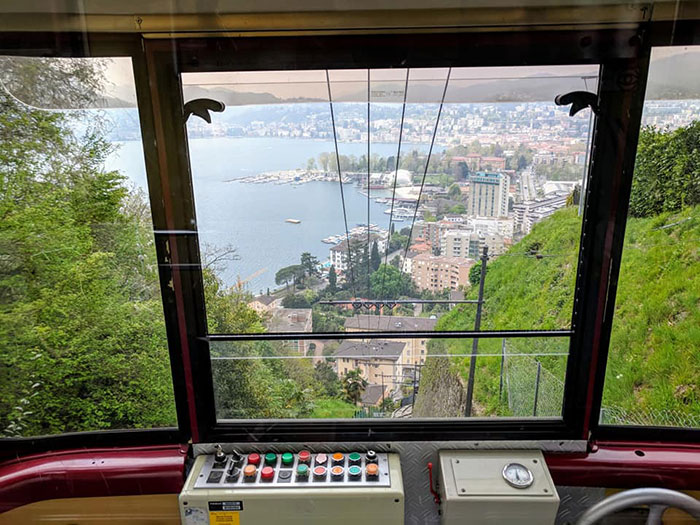 Lake Lugano Funicular Irina Ginghina