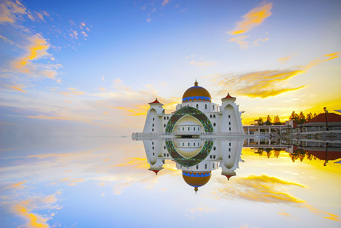 Malacca floating mosque
