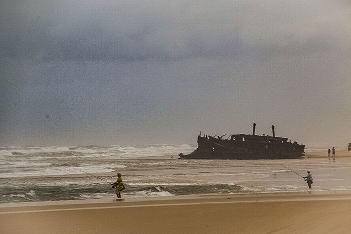 Mareno Shipwreck Fraser Island Richard Collett