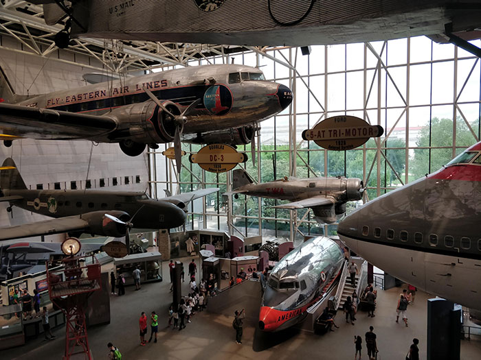 National Air and Space Museum Washington Angela Griffin