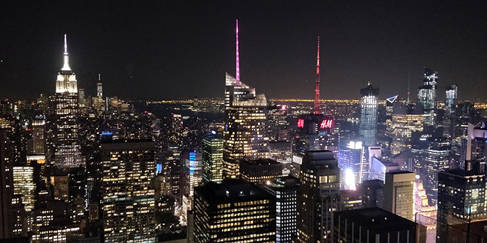 New York from Top of the Rock Angela Griffin