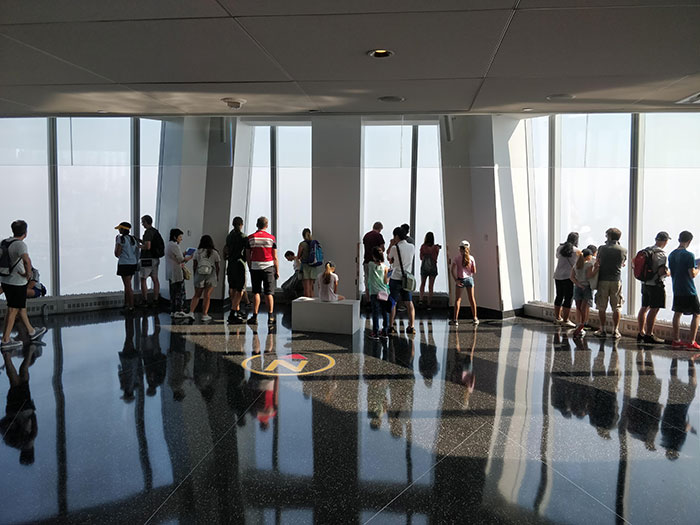 One World Observatory New York Angela Griffin