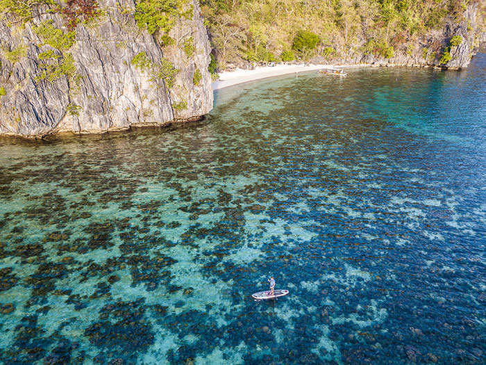 Paddle boarding Philippines Richard Collett