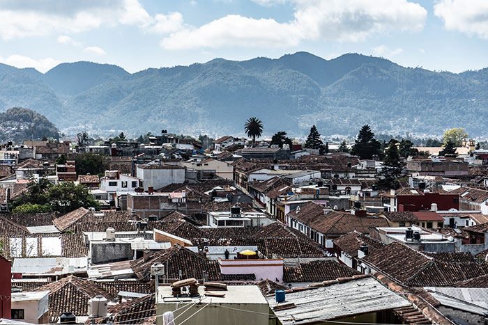 San Cristo in Chiapas, Mexico