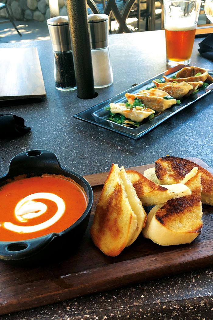 Tomato Soup & Cheese Toastie