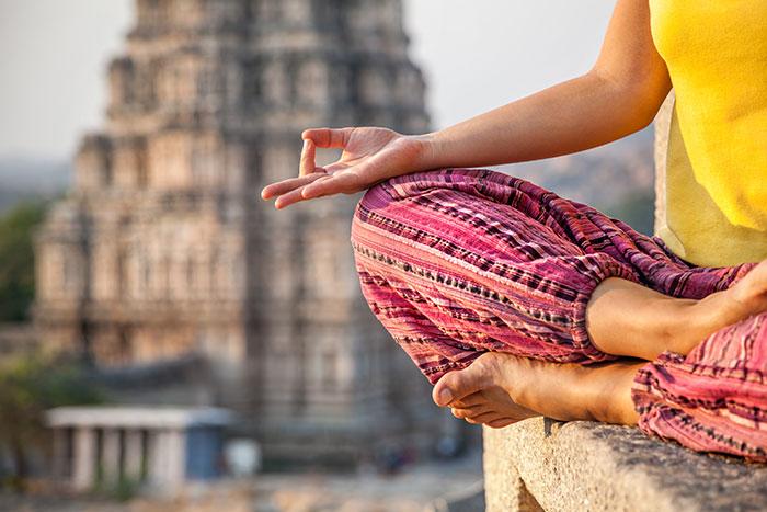 Yoga Practise in India