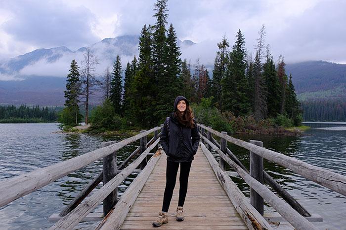 Pyramid Island footbridge Laura Day