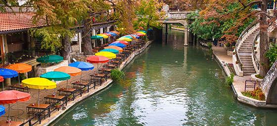Enjoy the River Walk in San Antonio