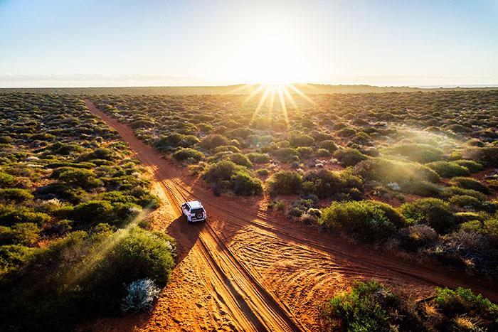 Road tripping in Western Australia