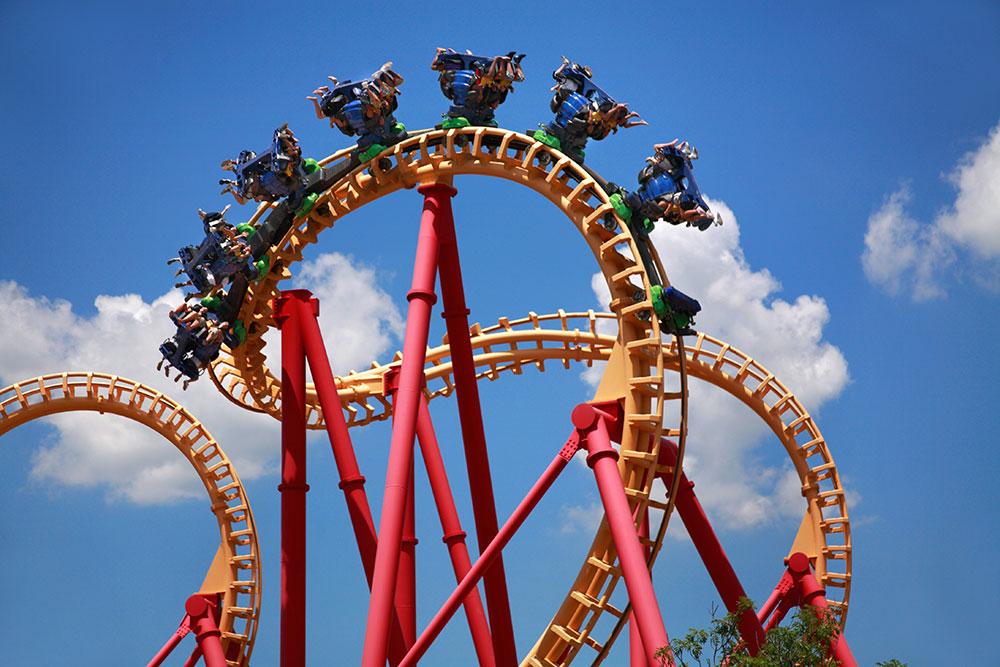 Roller coaster Orlando Florida