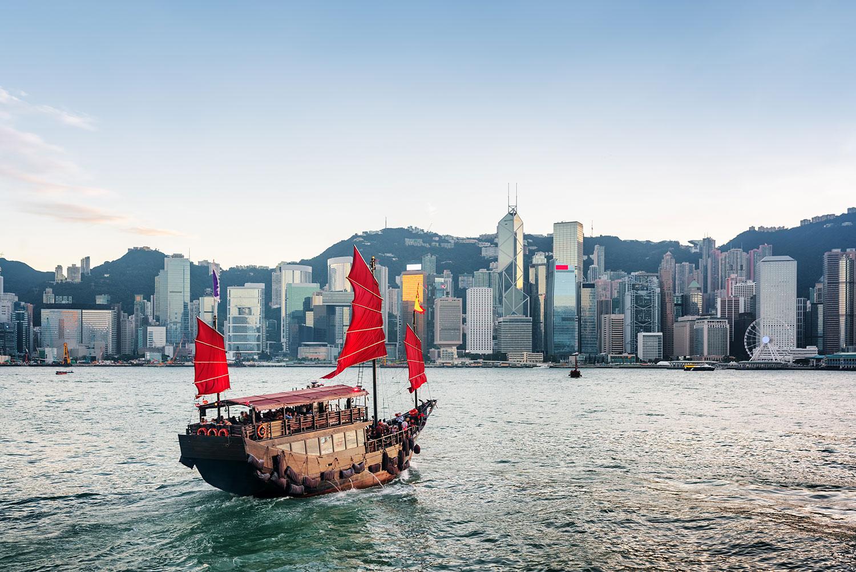 Boat, Hong Kong