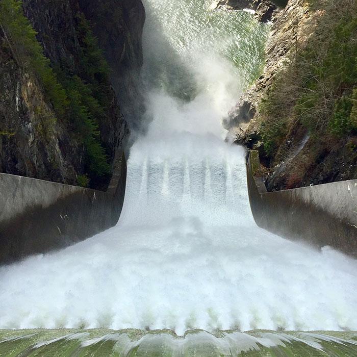Capilano Dam, Vancouver