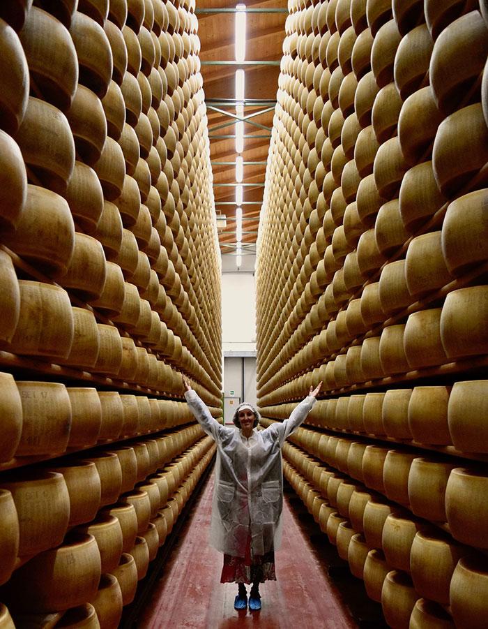 Parmigiano Reggiano factory, Emilia Romagna