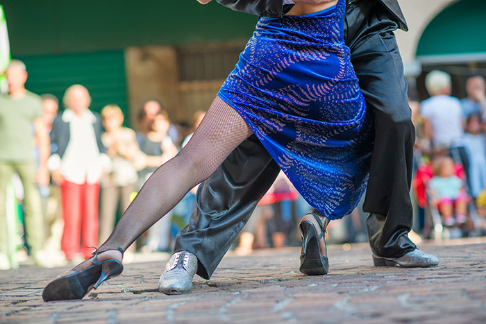 Dance the tango in Brazil
