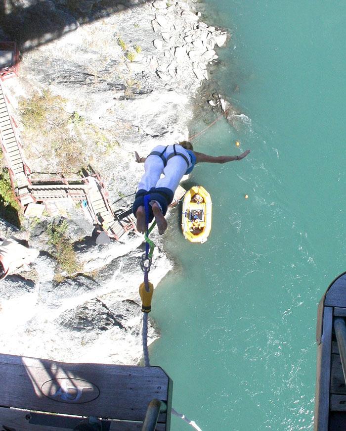 Bungee jump (image: Hayley Lewis)