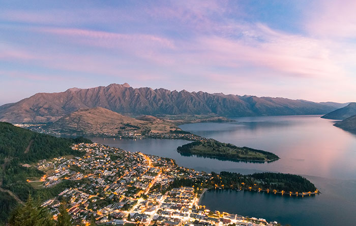 Queenstown Hill (image: Tamsin Gorman)